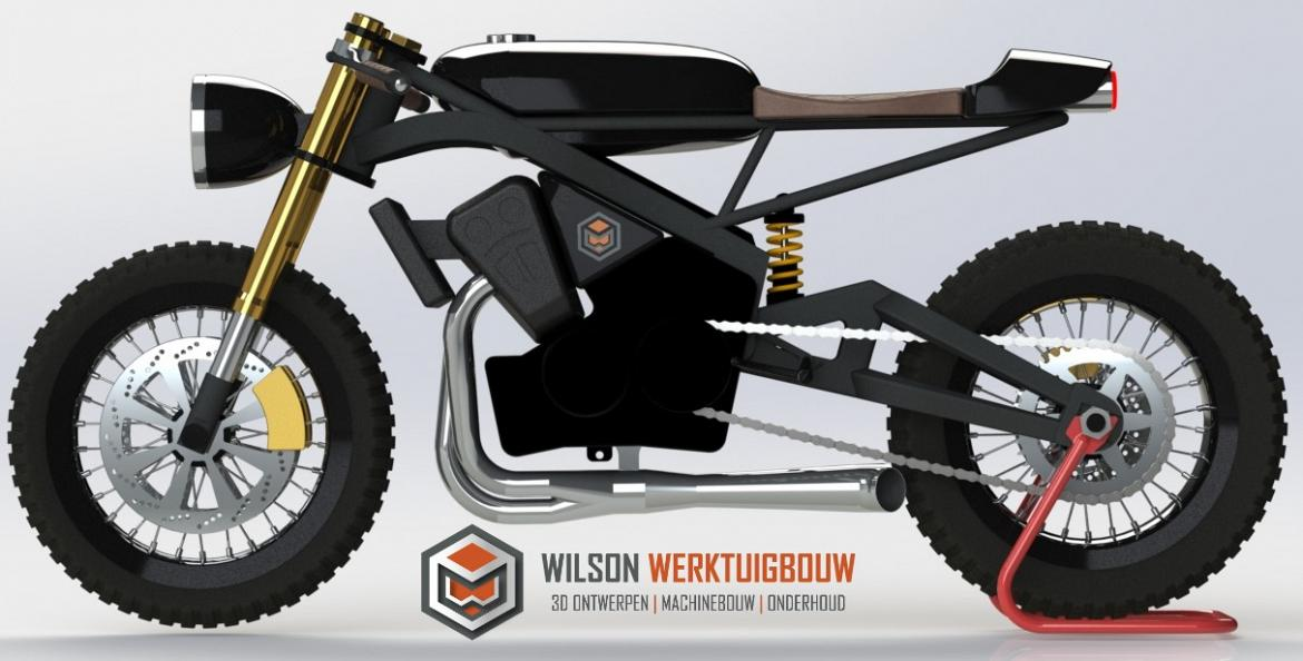 cafe racer wilson leftview